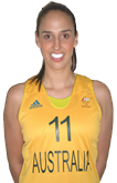 Laura Hodges - Australian Olympic Womens Basketball Team